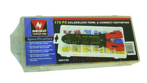 175 Piece Terminal & Connector Kit
