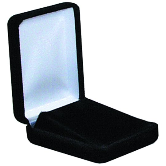 M&M 570350 Velvet Pendant Box - Black 12 per Box
