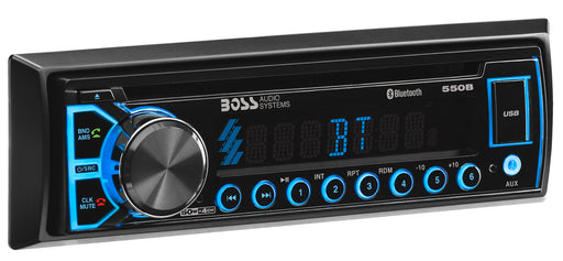 550B Boss Elite Single Din CD MP3 Bluetooth Receiver
