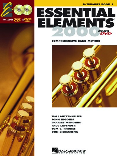 Hal Leonard Essential Elements Bb Trumpet Book 1