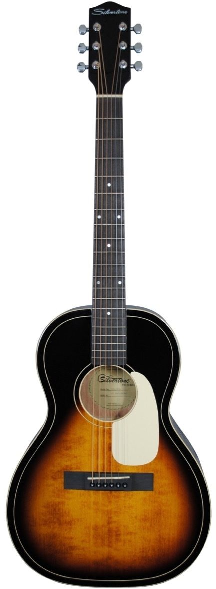 604 AVS Silvertone Solid Spruce Parlour Acoustic