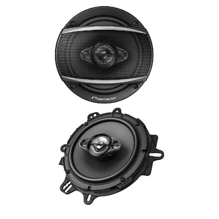 TS-A1680F Pioneer 6.5 4 way Coaxial Speaker Pair 350 Watts