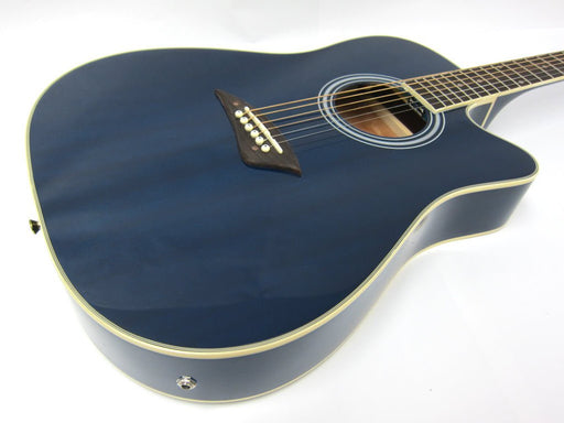 K2TBL Kona K2 Series Thin Body Acoustic/Electric Guitar