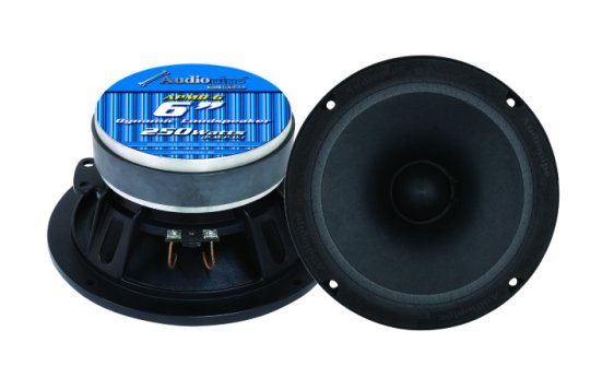 "Audiopipe 6"" Low Mid Frequency Loudspeakers"