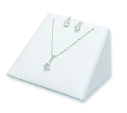 Stackable Earring/Pendant Display in White