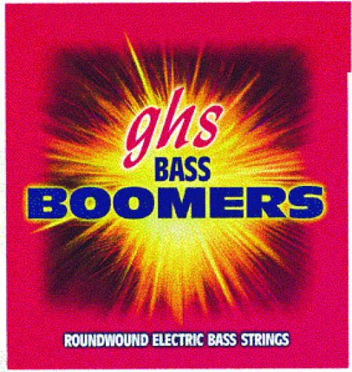 GHS 5 String Electric Bass Boomers