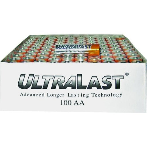 UltraLast 100 Pack AA Batteries