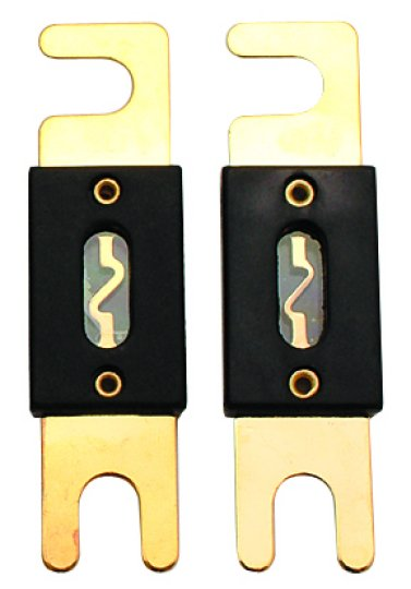 Audiopipe 100 Amp Gold ANL Fuse 2 Pack