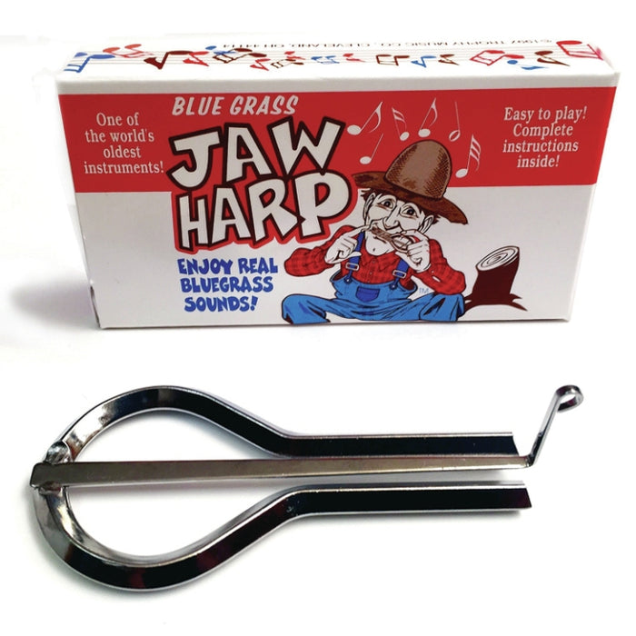 Trophy Blue Grass Jaw Harp Gift Box