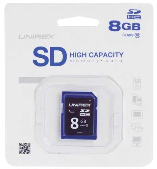 Unirex MEM-SD8G SD High Capacity Card 8GB Class 4