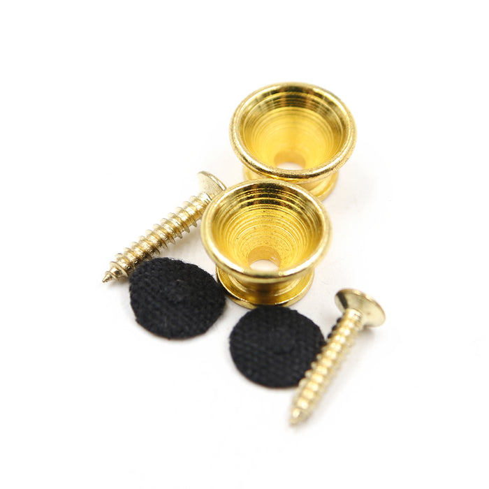 A024MTL-B Fat Boy Gold Strap End Pin - 2 Pieces