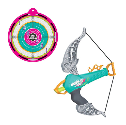BH16216 BOW AND ARROW DART AND Target Green
