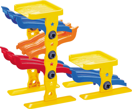 BH16225 My First Stem Toy 4-Level Toy Car Ramp Race Track