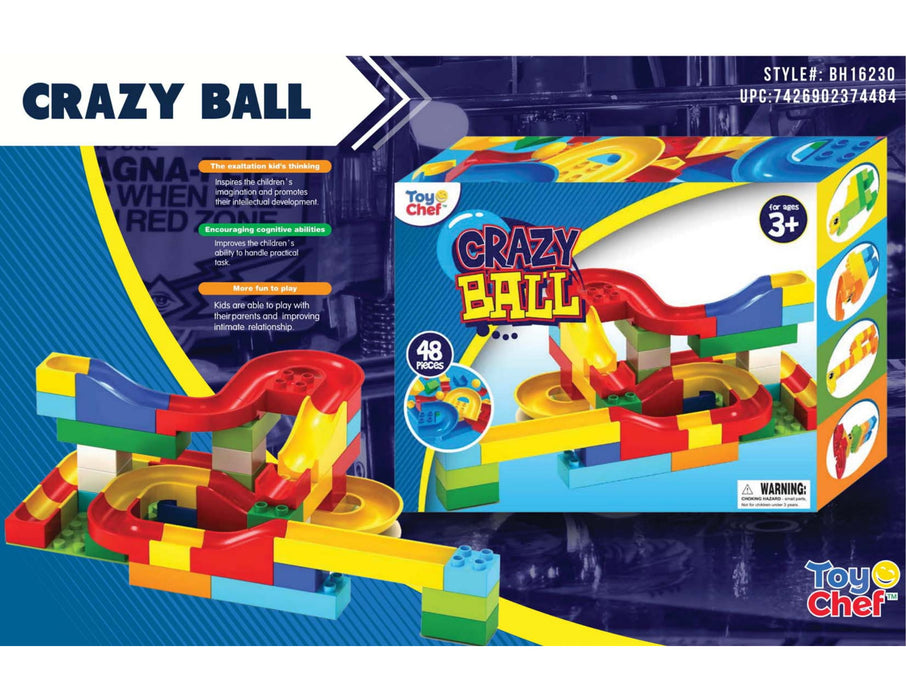BH16230 Crazy Ball Marble Run Blocks