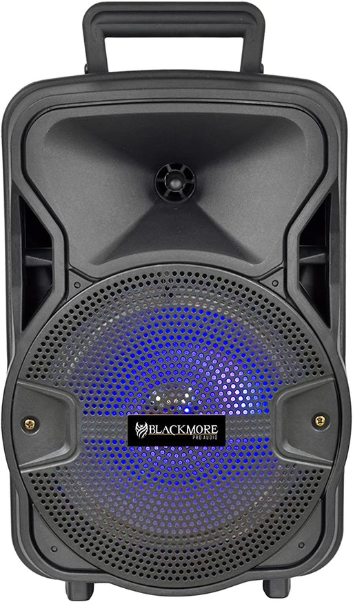 BJS-209BT Blackmore 8 Bluetooth Battery Powered Portable PA Speaker