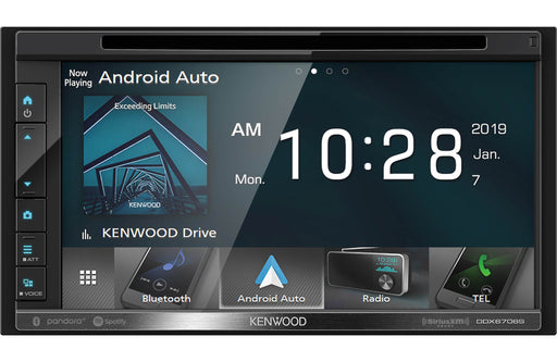 DDX-6706S Kenwood 6.8 DVD Carplay Android Receiver