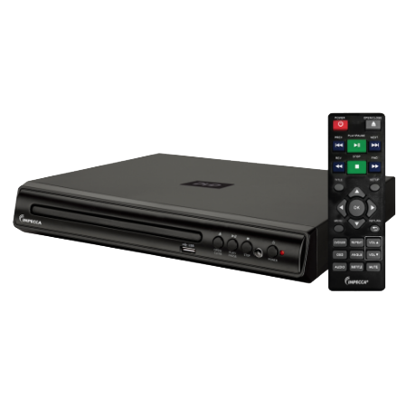 DVHP-9109-3 Impecca Compact DVD-USB Media Player 110v