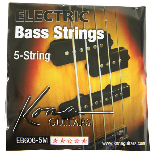 EB606-5M Kona Electric Bass String 5 String