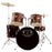 "GP100WR GP Percussion ""Player"" 5 Piece Full Size Drum Set"