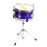 GP50MPR GP Percussion 3 Piece Junior Drum Set (Metallic Purple)