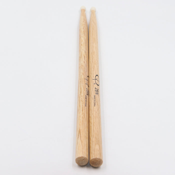 GPDS2BN GP Percussion Oak Drumstick 2B Nylon Tip