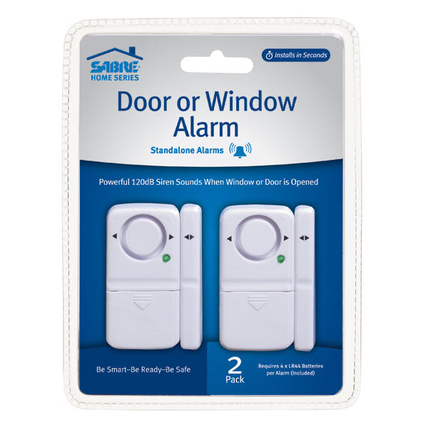 HSDWA2 Sabre Door or Window Alarm 2-Pack