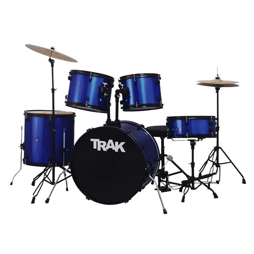 JBP1601A-BLU TRAK 5 Pc Drum Set BLUE