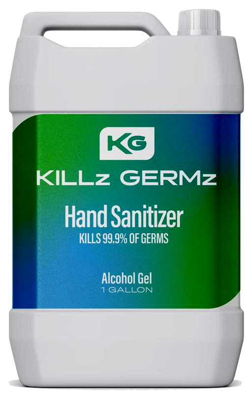 GK-427 Killz Germz Hand Sanitizer Gallon Jug
