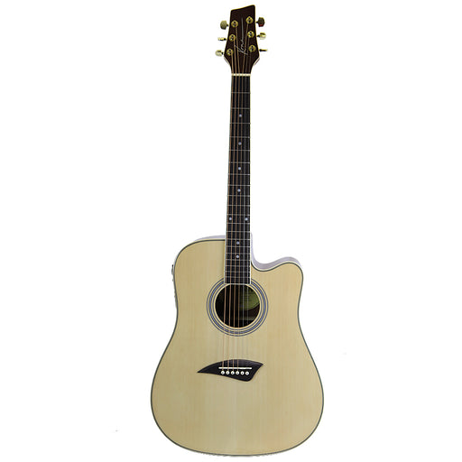 Kona K1E Series Dreadnought Cutaway Acoustic/Electric Guitar