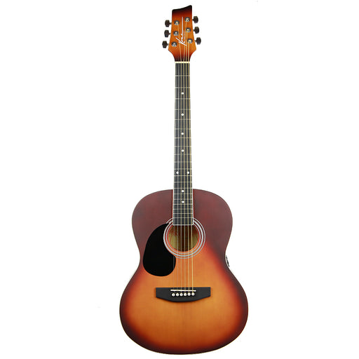 "K391L-HSB Kona Left Handed 39"" Acoustic Guitar (Honeyburst)"