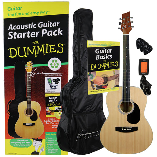 Acoustic Guitar Starter Pack for Dummies - Guitar for Dummies