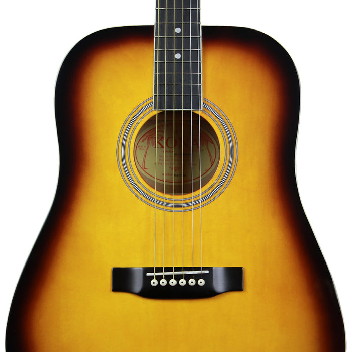 K41TSB Kona Dreadnought Acoustic Guitar (Tobacco Sunburst)