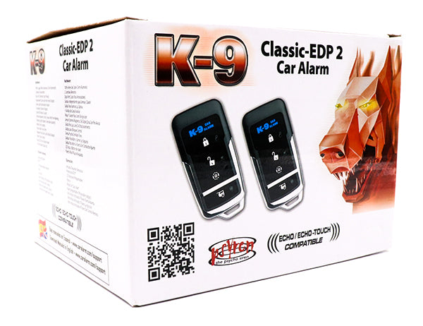 K9CLASSICEDP2 K9 Alarm with 2 Way Pager Option