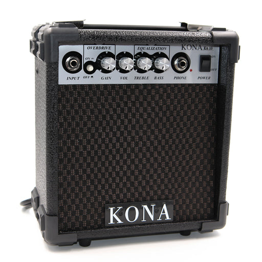 "KA10 Kona 10 Watt Guitar Amplifier with 5"" Speaker, Headphone Jack and Overdrive"