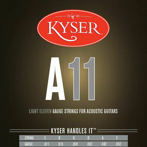 KA2-SET Kyser Acoustic Phos-Bronze 11-52