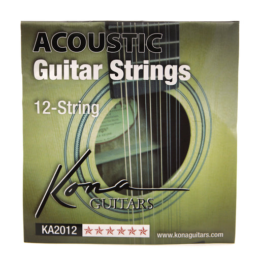 KA2012 Kona 12 String Acoustic - Light