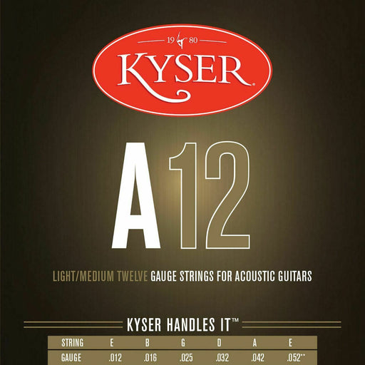 KA3-SET Kyser Acoustic Phos bronze 12-52