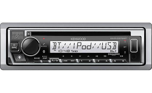 KMR-D378BT Kenwood Marine CD BT Receiver