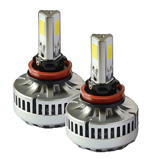 LH10-6K LED Headlights 3 Sided Cree