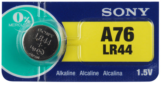 SLR44 Sony Watch Battery #LR44 Tear Strip