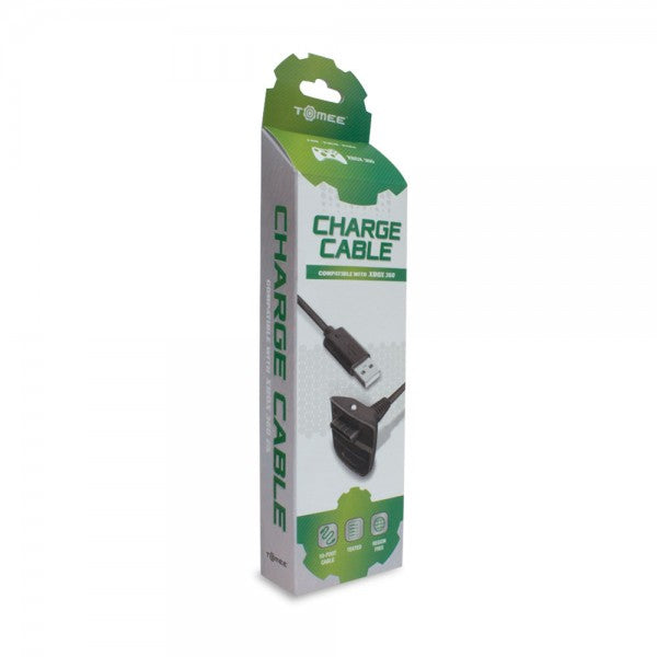 M05571BK XBOX360 Controller Charge Cable (Black)