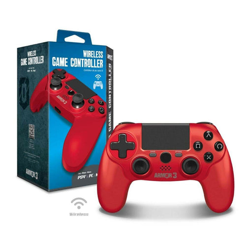 M07450-RD Wireless Controller PS4 PC/Mac Red