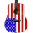 MAAF Main Street Dreadnought Acoustic Guitar American Flag