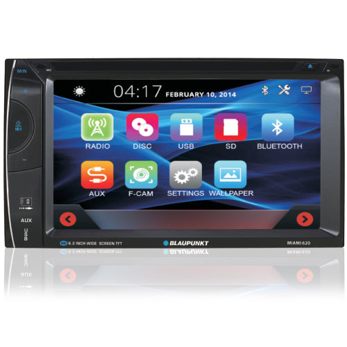 MIAMI620 Blaupunkt 6.2 BT DVD  Receiver