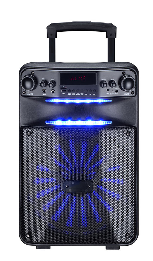 MPD12AP Max Power Single 12 Inch Woofer with built in Rechargeable battery Full Controlled by APP: Speaker Pro