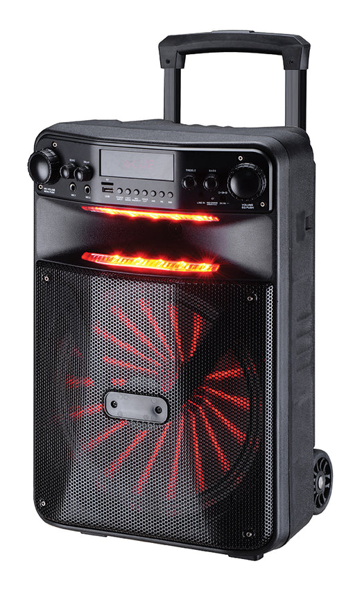 MPD15AP Max Power 15in Bluetooth Trolley Speaker with Speaker Pro App