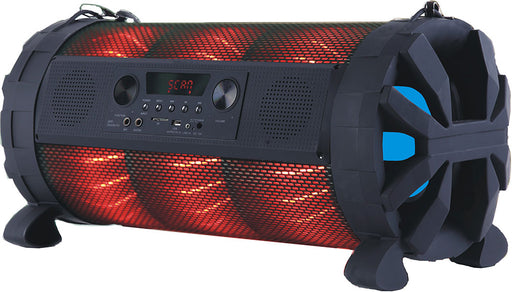MPD8APBZ Max Power Dual 8in Woofer with built in Rechargeable battery Full Controlled by APP: Speaker Pro