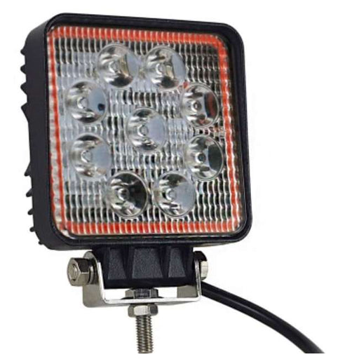 NL-LBSTRQ-15W Pipedream 5in 27 Watt Square LED Fog Light with Strobe