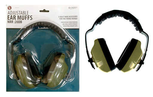 Adjustable Noise Reduction Ear Muffs  20 db rated