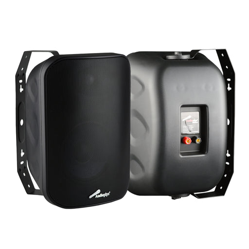 ODP653BLK Audiopipe 6.5in Outdoor Speaker Black Pr